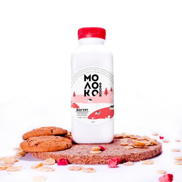 йогурт-клубника