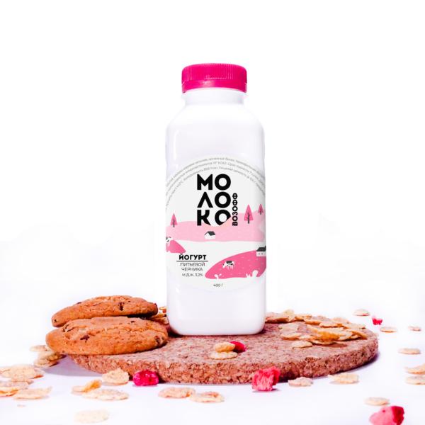 йогурт-черника